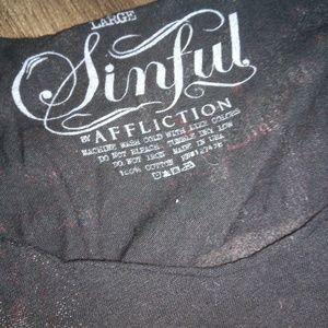 Sinful Tops - Sinful shirt lnew very nice